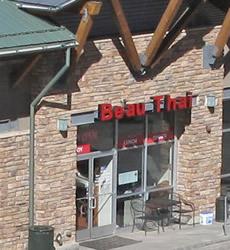 Beau Thai Restaurant, Bergen Village Shopping Center, Evergreen, Colorado