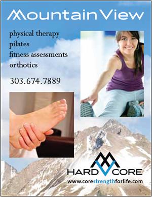Mountain View Physical Therapy, Bergen Village Shopping Center, Evergreen, Colorado